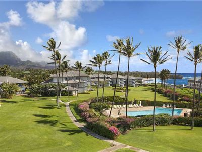 Poipu Sands Stunning Ocean and Pool View *Poipu Sands 133*