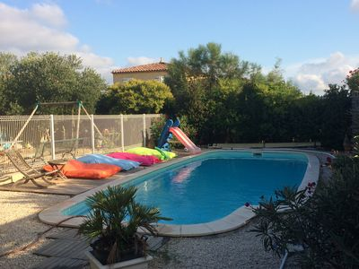 Photo for Villa rental ARLES 6 pers, private pool 12X5m