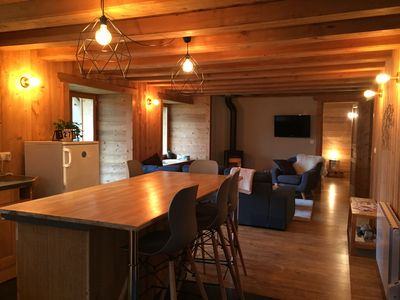 Photo for 2BR Apartment Vacation Rental in Saint-Jean-d'Aulps