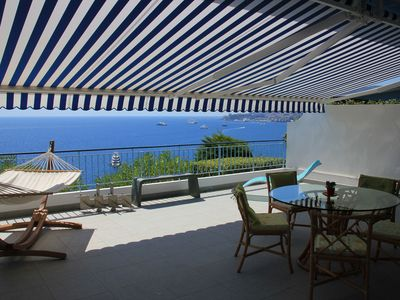 Photo for Apartment overlooking the sea - Pool - Terrace - 5 min from Monaco-Free wifi
