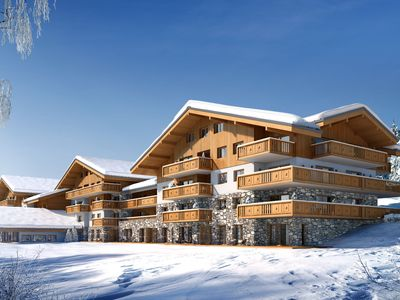 Photo for Great residence with Spa, on the slopes, in the friendly Les Saisies