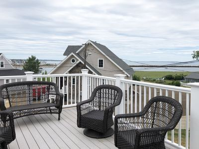 Photo for Sit back, relax and enjoy the ocean views from the roof top deck