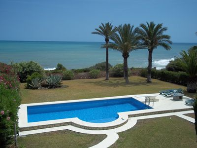 Photo for Beautiful Seafront Villa With Private Pool