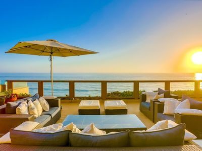 Photo for Ocean Front House ☆ 2 Stories ☆ Dual Ocean View Patios