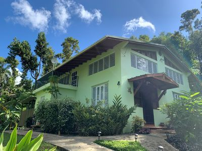 Photo for Private Rain Forest Home in El Yunque, Puerto Rico
