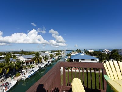 Photo for Gorgeous pool home with awesome views and boating on Cudjoe Key