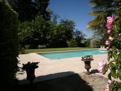 Photo for Cottage with pool 7 people Périgord Vert