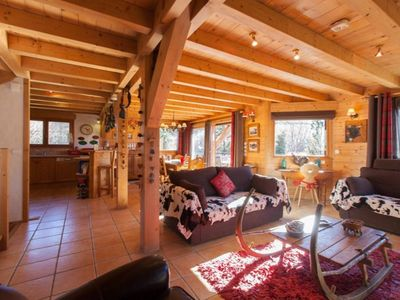 "Photo for ""Chalet Clarines, proximit pistes"""