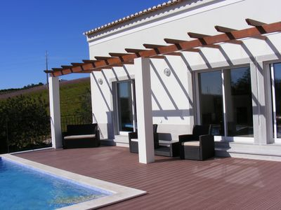 Photo for Modern villa with swimming pool located in a beautiful valley in Tavira.