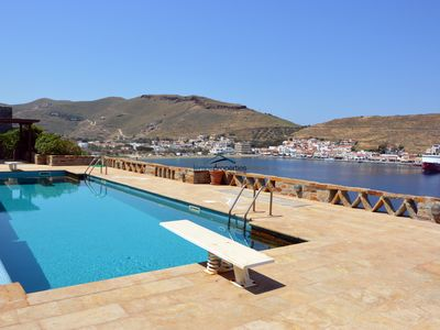 Photo for Luxurious and spacious villa with a swimming pool and fantastic sea view