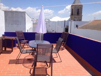Photo for APARTMENT IN THE HISTORICAL CENTER WITH TERRACE