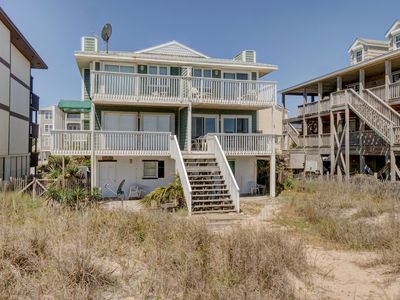 Photo for Shore Is Nice - Great oceanfront 3 bedroom duplex with plenty of parking