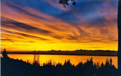 Awesome view of Puget sound