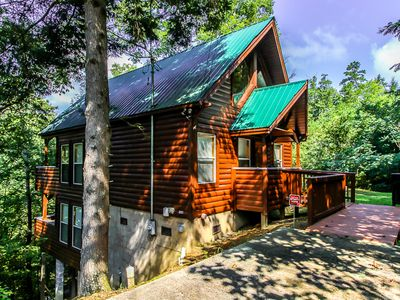 Photo for This Cabin Has It All! Size, Luxury, Secluded, Location, Amenities, Accessible