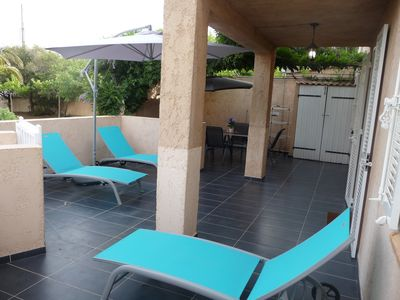 Photo for T2 LE MISTRAL 400 meters from the beach & town center CALVI for 3 people