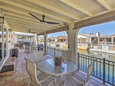 Photo for Waterfront Home in Parker w/Mtn Views & Dock!
