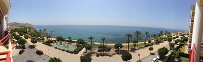 Photo for spectacular view to the mediterranean sea