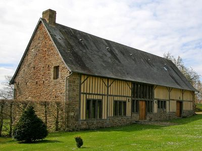 Photo for The Barn, Boudet - family friendly luxury accommodation in beautiful Normandy