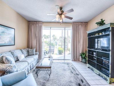 Photo for Airy, coastal condo, 2 beach chairs included, Quick drive to entertainment