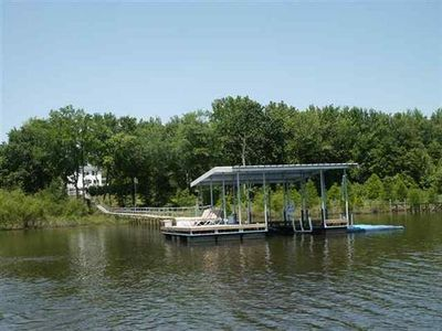 Photo for Kentucky Lake Waterfront Home With Private Pool(Check dates for pool)