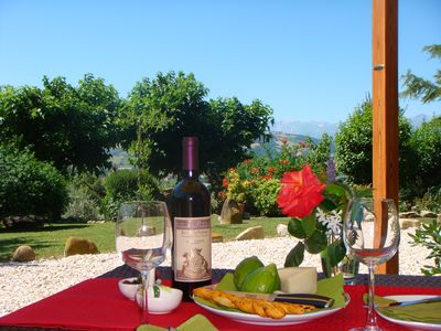 Relax in style with some excellent Marche wine!