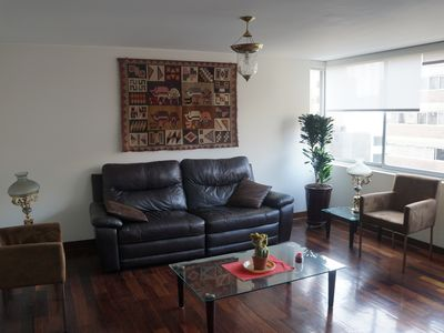 Photo for New windows clean, cozy, AC, apartment in the heart of Miraflores District