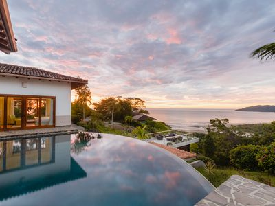 Photo for Hilltop Ocean-View Paradise for 16 with 2 Private Pools!