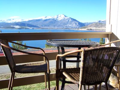 Photo for Best Views of Lake Dillon, Spacious and Comfortable, Central Location!