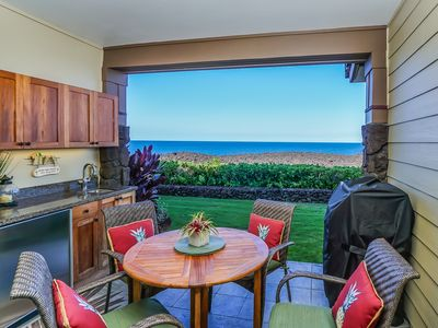 Photo for Oceanfront Luxury Condo at the Waikoloa Beach Resort with Golf Nearby, Private Lanai, BBQ & WiFi