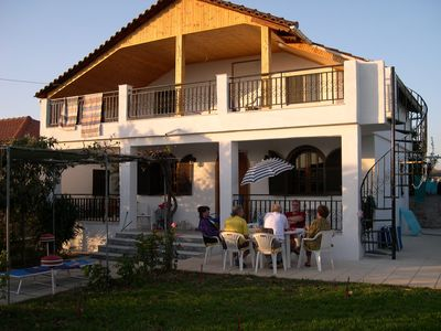Photo for Private holiday house by the sea with garden 200 m to the 5 km long sandy beach