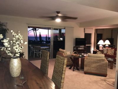 Photo for Newly Remodeled, Panoramic Ocean View Condo in Ka'anapali with special pricing!