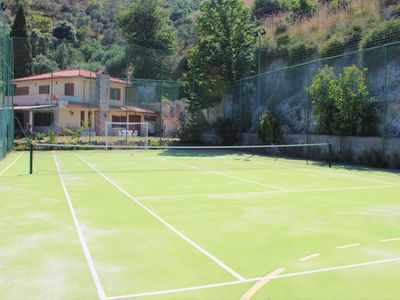 Photo for Villa Colle Mare with swimming pool and private tennis court