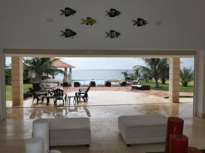 Photo for Stunning ocean side villa in private complex