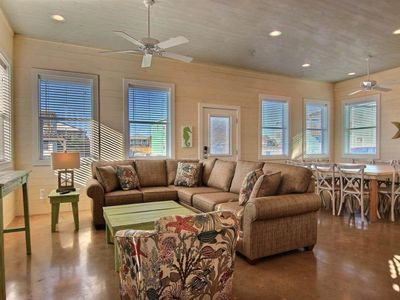 Photo for 4/4.5 Fabulous home! Walk to the beach! Palapa! Community Pool! In town!