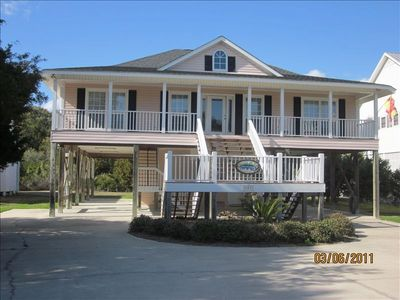 Photo for Gorgeous Bch Home, +-600' to Beach, Slp 10, Wi-Fi, Tidal Cr, perfect event area