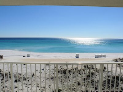 Balcony View to the South - The breath-taking beauty of the Gulf of Mexico is just outside your door.