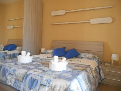 """Photo for """"POSEIDON"""" APARTMENT 2 STEPS FROM THE SEA"""