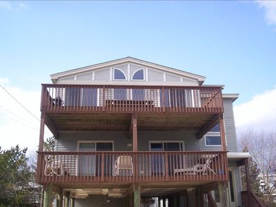 Front of our Harvey Cedars Beach Home