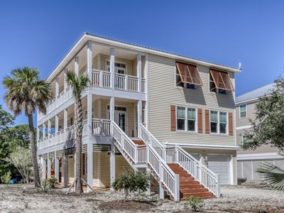 Photo for Spacious three-story home near the beach w/community pool & tennis court