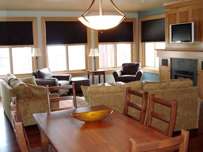 Photo for 2 Bedroom Platinum Condo + Hot Tub at Snowbird Lodge
