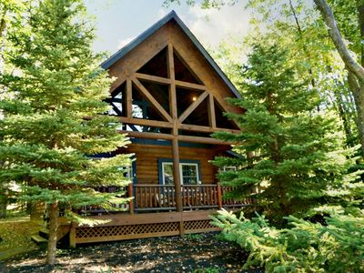 Photo for The Evergreen - 2 Bedroom Lake Area Home with Year-Round Hot Tub Room