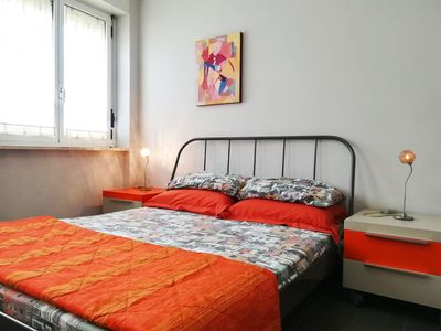 Photo for Modern Holiday Apartment with Wi-Fi, Air Conditioning and Balcony; Pets Allowed