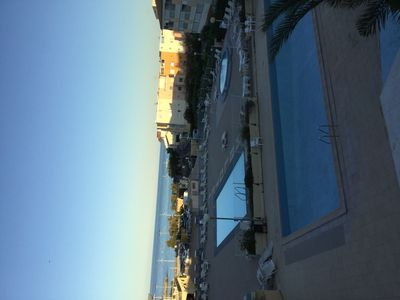 Photo for Nice renovated duplex facing the beach and its 2 biggest pools wading pool
