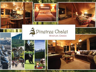 Pinetree Chalet... your home base in Whistler.