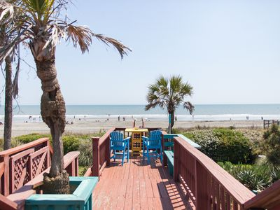 Photo for Funky Folly – Folly Beach Oceanfront Rentals - Pet Friendly
