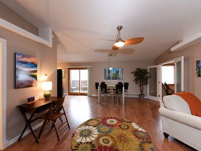 Photo for Hip, Gorgeous and Spacious Loft Condo in Downtown Estes Park on Parade Route
