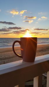 Photo for PIERVIEW CONDO 106 -BEACHFRONT WITH AMAZING SUNRISES!