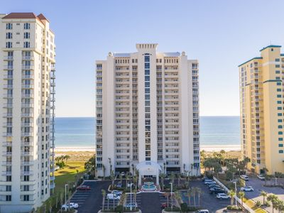 Photo for FREE Beach Service March - October! Gorgeous views of Gulf & beach!