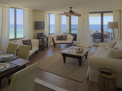 Photo for Gulf Front Luxury Condo at Watercrest Resort! Views, Views, Views!