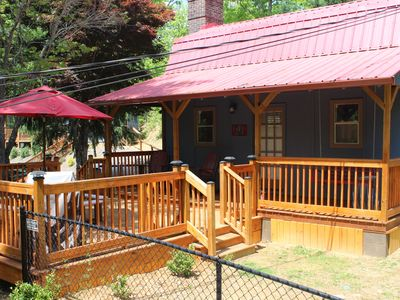 Photo for Peaceful Cottage / Pet Friendly / Loft Bedroom / Deck & Grill